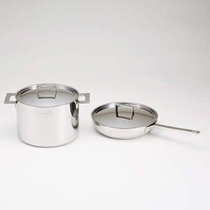 MEPRA / アッティーヴァ フライパン(フタ付き)&深型鍋セット