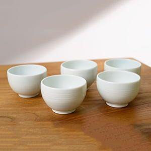 長谷川陶磁器工房 / 波佐見焼 煎茶碗5個セット
