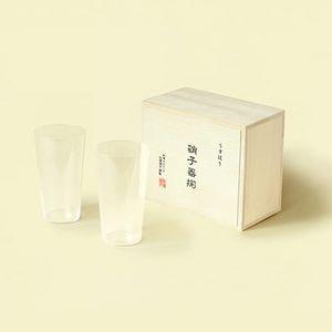 松徳硝子 / うすはり タンブラーMペアセット[木箱入り]
