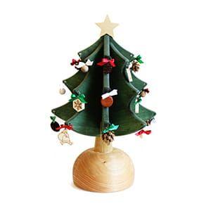 Oak Village / オルゴールツリー・プチ(グリーン) [ウィ・ウィッシュ・ユー・ア・メリー・クリスマス]