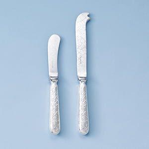 クリストフル / ジャルダンエデン バター&チーズナイフセット