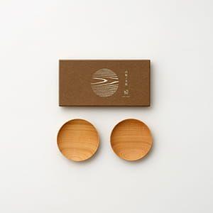 WDH / 山桜ノ木皿(豆皿)