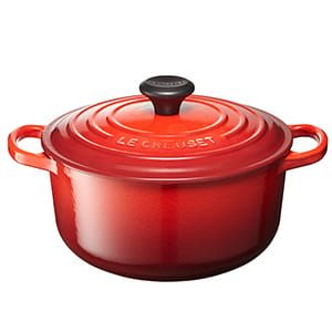 LE CREUSET / シグニチャー ココット・ロンド(20cm/チェリーレッド)