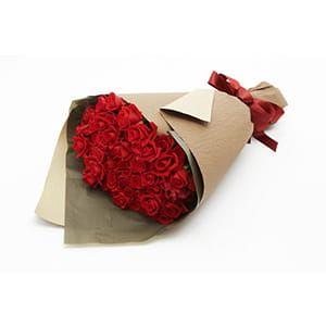 Red Rose 50 バラの花束50本