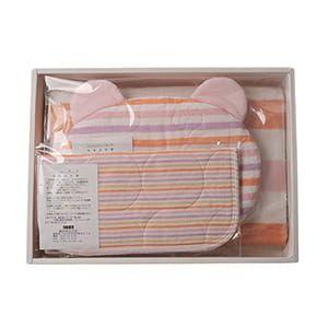 パシーマ / 肌掛・枕セット(ピンク)