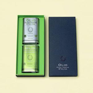 エキストラバージンオリーブオイルペアセット(グリーン・フルーティ 各250ml BOX付)*