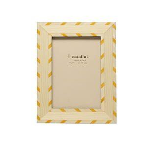 natalini / 象眼細工 フォトフレームL (bianco giallo)