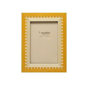 natalini / 象眼細工 フォトフレームL (osiride bione giallo)