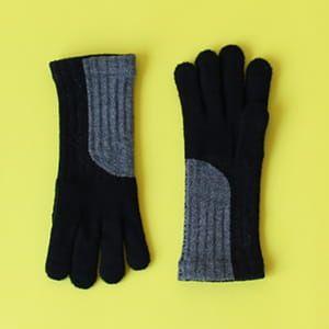 % / 手袋(Black70%Gray30%)