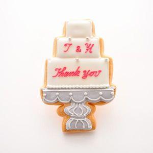 アイシングクッキー ケーキ (名入れ商品※お名前は備考欄へ)50個以上でご注文ください