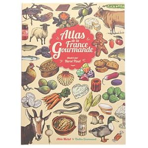 L'Atlas de la France gourmande (フランス)