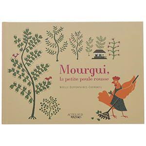 Mourgui,la petite poule rousse (フランス) [日本語単語帳付]