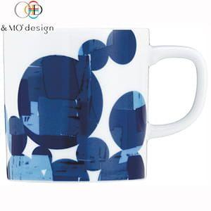 &MO'design / マグカップ(青のモザイク)
