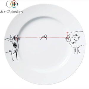 &MO'design / プレート(赤い糸)