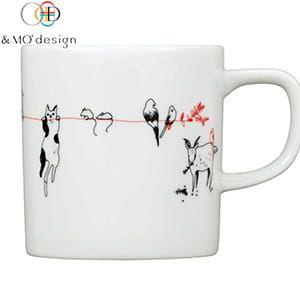 &MO'design / マグカップ(赤い糸)