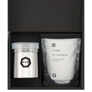 肴七味屋 / 熊本天草の釜炊き塩セット