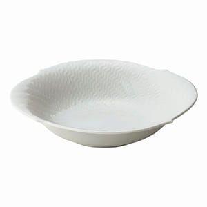Meissen / 波の戯れ ホワイト サラダディッシュ [GIFT COLLECTION掲載商品 611D0081]