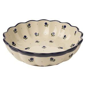 セラミカ / フィオーレ 波型盛鉢(21cm)